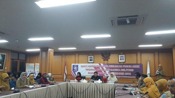 Perwakilan Tujuh Kabupaten di Babel Ikut Forum Anak, Wadah Partisipasi dan Aktualisasi Anak