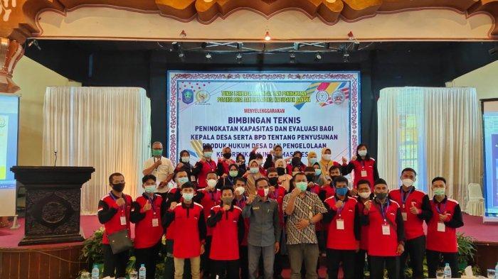 DPC APDESI Kabupaten Bangka Gelar Bimbingan Teknis untuk Aparatur Desa dan BPD