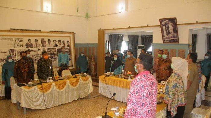 Rapat Komisariat Wilayah Forum Sekretaris Daerah Seluruh Indonesia (FORSESDASI) Provinsi Bangka Belitung yang bertempat di Pesanggrahan Menumbing