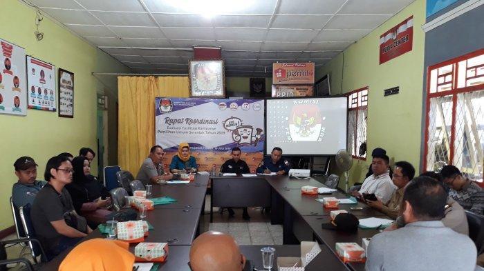 KPU Pangkalpinang Akan Bawa Masukan Peserta Rapat Evaluasi ke Rakornas di Bukit Tinggi