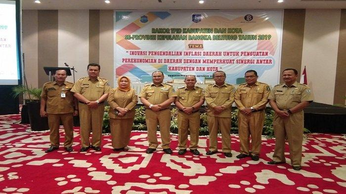 TPID Rakor se-Bangka Belitung Bahas Inflasi, Pangkalpinang Tertinggi