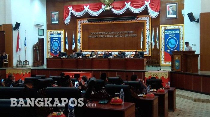 Rapat Paripurna Perda RZWP3K Hanya Dihadiri 34 Anggota Dewan, Ini Kata Ketua DPRD Babel