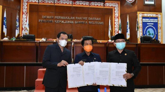 DPRD Bangka Belitung Setujui Lima Raperda Pemprov Babel