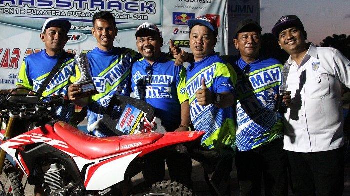 Nopi Indrian Juara Umum Even Kejurnas Grasstrak Region 1B Sumatera Putaran IV Babel 2018