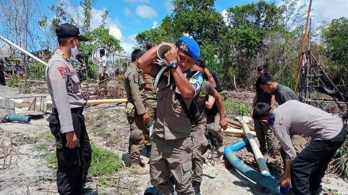 Rusak Hutan Bakau, Ini yang Dilakukan TNI-Polri dan Pol PP Saat Razia Gabungan Penertiban TI