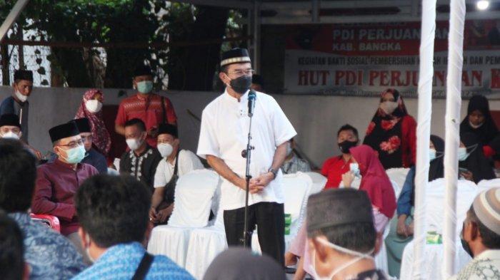 Sampaikan Pesan Megawati, Rudianto Tjen: Kader PDIP Babel Harus Jadi Teladan Masyarakat