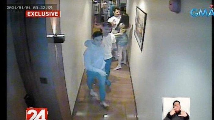 Rekaman CCTV Pramugari Cantik Teman Manny Pacquiao Sebelum Tewas Terekspos ke Publik
