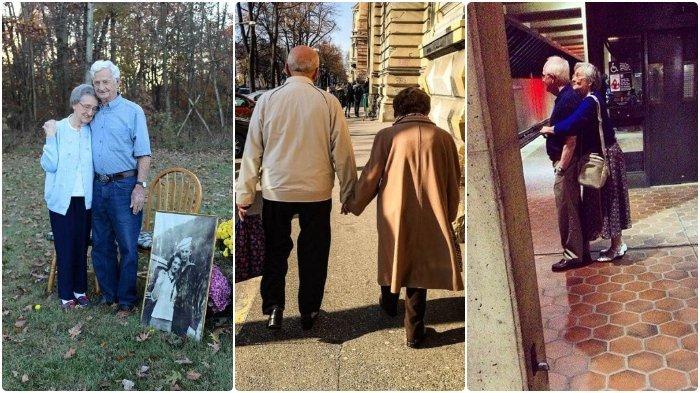 Potret 9 Pasangan Ini Buktikan Cinta Sejati Meski Rambut Telah Memutih
