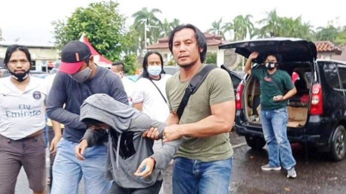 Enam Bulan Buron, Yogi Berhasil Ditangkap Tim Naga Polres Pangkalpinang, Pelaku Dilumpuhkan Polisi
