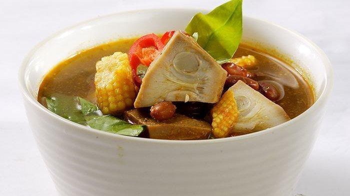 Hidangan Sederhana yang Penuh Citarasa, Sup Asam Jawa dengan Sayuran Kacang Merah,