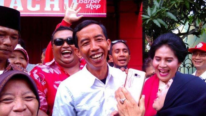 Heboh, 2 Pria Mirip Jokowi Tiba-tiba Datang saat Resepsi Pernikahan Kahiyang-Bobby