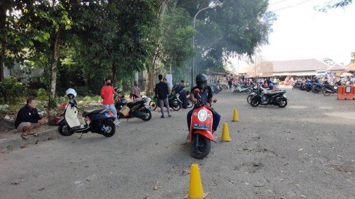 Honda TDM Toboali Adakan Event Roadshow di Pasar Terminal Toboali