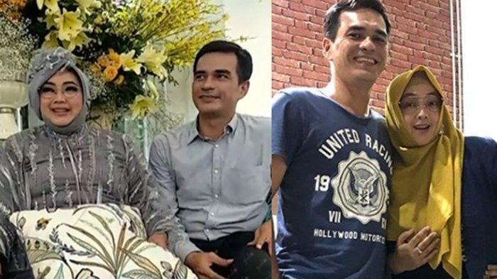 Teddy Syach Tak Kuasa Menahan Kesedihan saat Mengazani Sang Istri , Antar ke Peristirahatan Terakhir