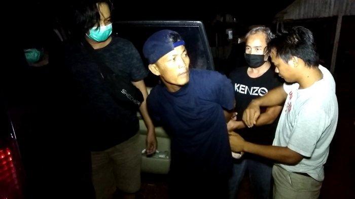 Diduga Curi Hp Penjaga Malam BTC, Rio Dibekuk Tim Opsnal Polres Pangkalpinang Saat Main Gaple