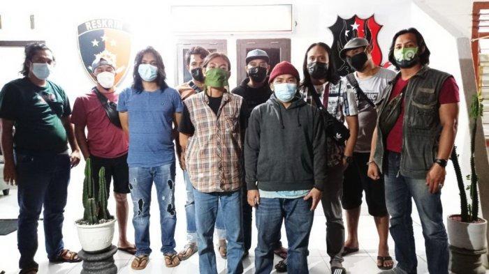 Dua Pemuda Ditangkap Tim Naga, Diduga Pelaku Vandalisme di Pangkalpinang