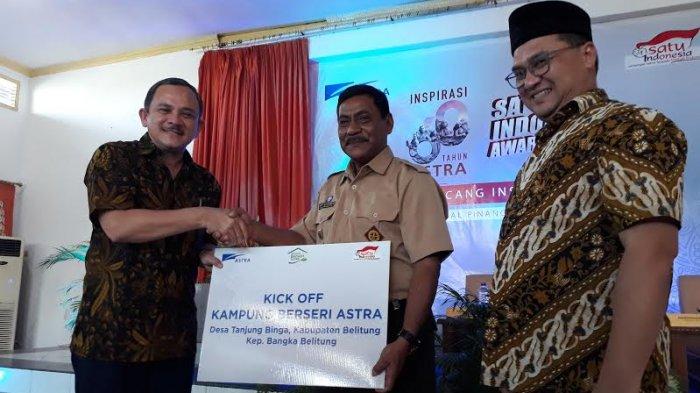 Desa Tanjung Binga Mendapatkan Kick Off Kampung Berseri Astra