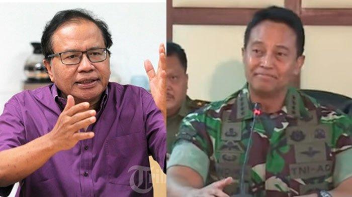 Twit Rizal Ramli Prabowo Menang di Kompleks Paspampres, KSAD Bereaksi dan Bakal Cari Si Letkol