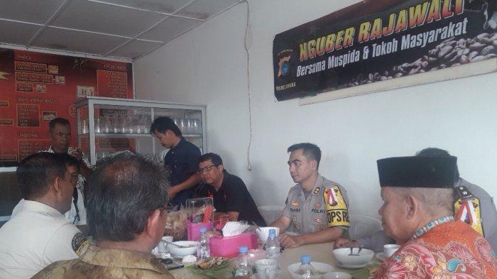 Polres Nguber Rajawali Bersama KPU dan FKUB, Antisipasi Persoalan Pemilu 2019