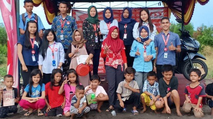 Roadshow NSS Sungailiat Meriahkan Desa Nelayan II dengan Berbagai Games