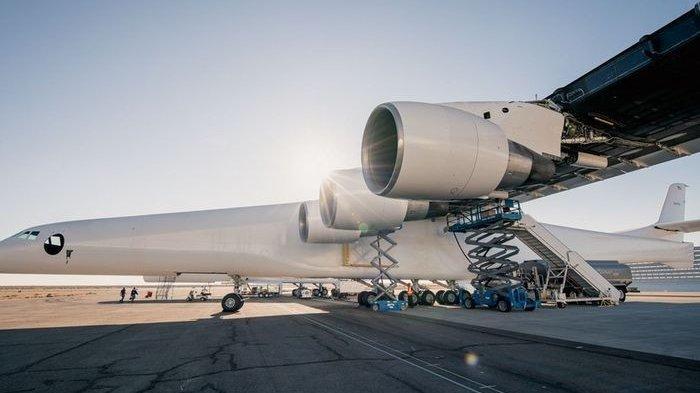 Inilah ROC: Pesawat Terbesar di Dunia, Sayapnya Sepanjang Lapangan Bola