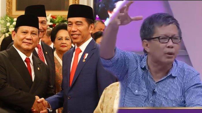 Prediksi Rocky Gerung, Kabinet Jokowi Akan Hancur dan Prabowo Akan Dicopot Pertama, Ini Alasannya
