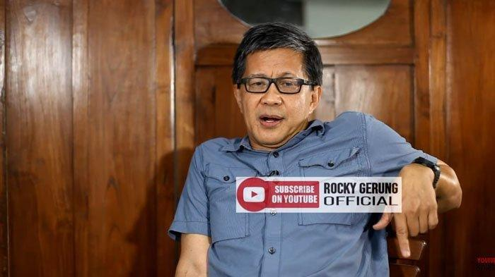Rocky Gerung Sebut Mendagri Tito Karnavian Menghina NKRI Gegara Kelakar Jakarta Seperti Kampung