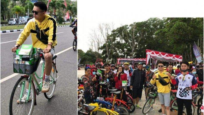 Kalbe Nutritionals Ikut Car Free Day di Pangkalpinang, Komunitas Sepeda Ambil Bagian Bagikan Fitbar