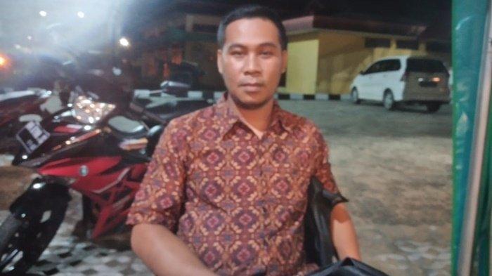 Riko Bantah Temui Pengusaha Gunakan Lencana Berlogo PWI, Hanya Untuk Foto Profil Medsos Saja