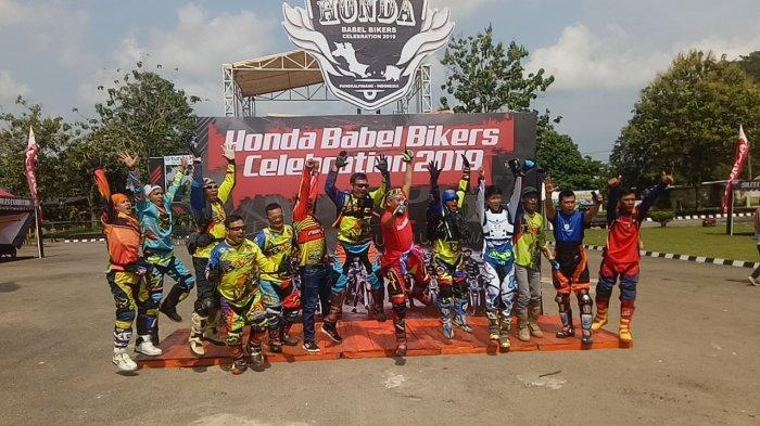 PT ASP Apresiasi kepada Bikers Honda di Babel