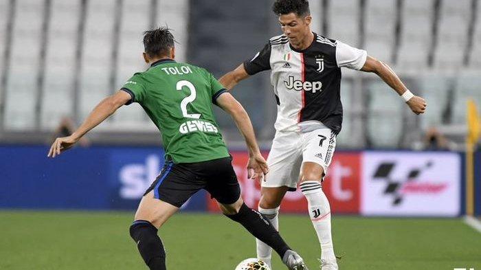Juventus Imbang Lawan Atalanta, Ronaldo Tertinggal Satu Gol dari Immobile di Daftar Top Skor