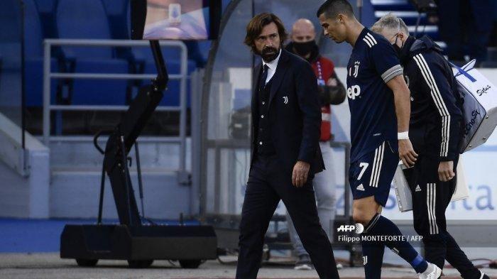 Berita Liga Italia Juventus Curi Poin di Kandang Lazio, Ronaldo Jadi Tumbal