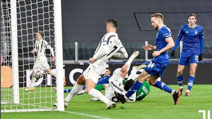Berita Liga Champions: Dynamo Kiev Bungkam, Kemenangan Juventus Dihiasi Gol ke-750 Ronaldo