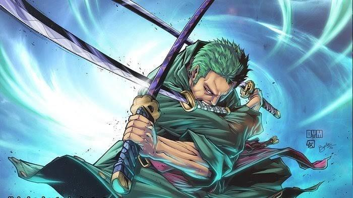 BOCORAN Manga One Piece Chapter 998, Roronoa Zoro Bantu Marco Hadapi King