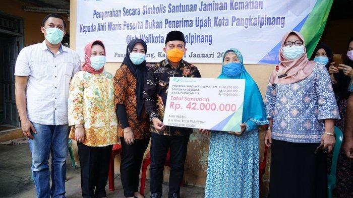 Ahli Waris Korban Jatuhnya Pesawat Sriwijaya Air SJ-182 Dapat Santunan Rp42 Juta dari BPJS