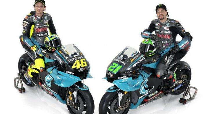 Latihan Bebas, Morbidelli Terpaksa Gunakan Mesin Baru Usai Mesin Yamaha M1 Jebol