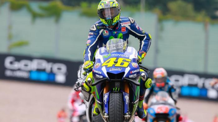 Ini yang Membuat Rossi Abaikan Instruksi Masuk Pit di GP Jerman