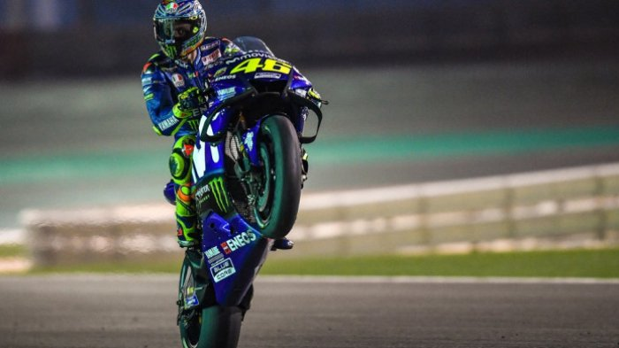 Valentino Rossi dan Maverick Vinales Usung Monster Energy Yamaha MotoGP