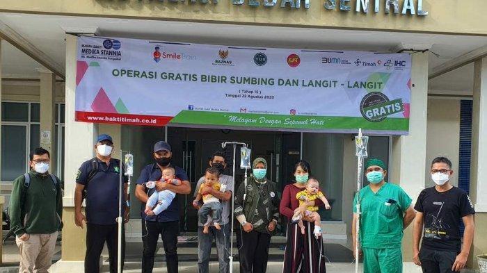 RSMS Sungailiat Tetap Konsisten Gelar Operasi Bibir Sumbing Gratis di Tengah Pandemi