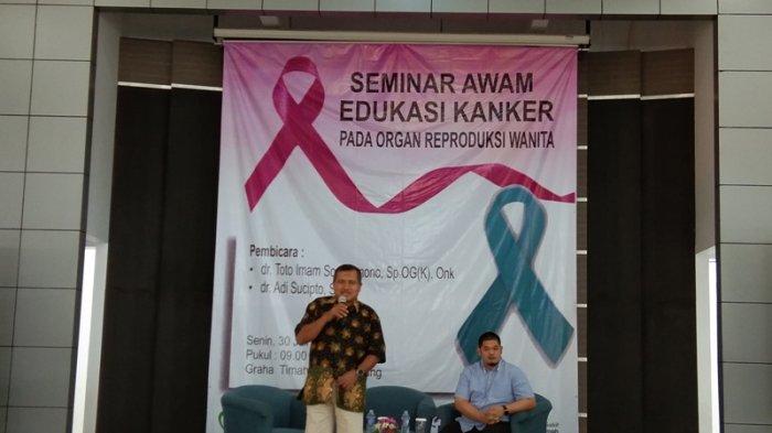 RSBT Pangkalpinang Adakan Seminar Edukasi Kanker Reproduksi Wanita