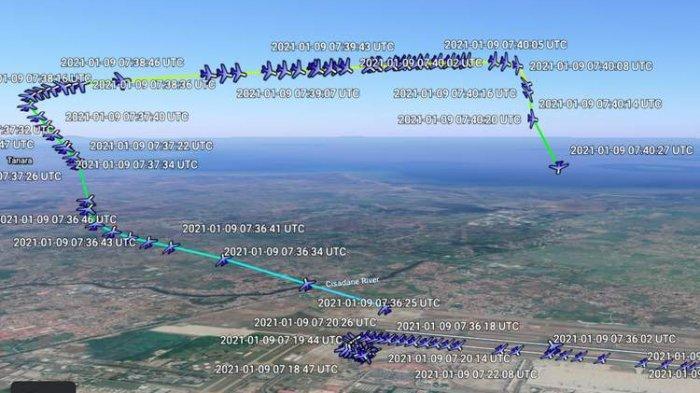 Sebelum Jatuh ke Laut, KNKT Temukan Pesawat Sriwijaya Air Masih Kirim Data Dari Ketinggian 250 Kaki