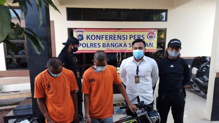 Todong 4 Orang Saat Nongkrong di Pantai Kubu, 2 Pelaku Dibekuk Polisi, 2 DPO