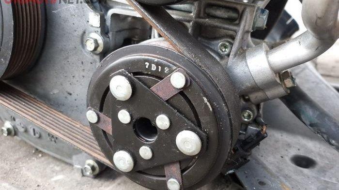 Cara Mengatasi Kompresor AC Mobil Keluar Bunyi Kasar, Ternyata Ada Masalah di Komponen Ini