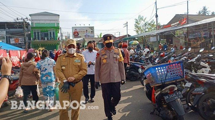 Hasil Sidak,Gubernur Bangka Belitung Temukan Harga Jual Daging Sapi di Pasar Pagi Masih di Atas HET