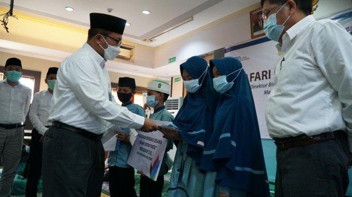 Safari Ramadhan, Direktur PLN Sapa Panti Asuhan dan Kaum Dhuafa di Bangka Belitung