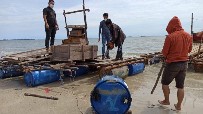 Pasca Penertiban, Kombes Pol Sihar Manurung: Kini Tidak Ada Lagi Aktivitas Tambang di Laut Toboali