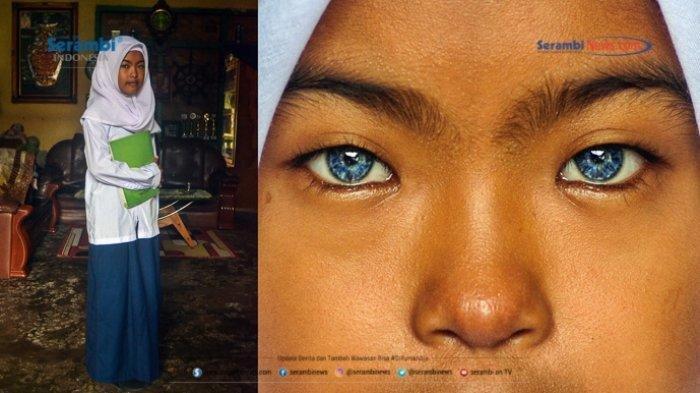 Sederet Potret Orang-orang Bermata Biru dari Minangkabau, Begini Sejarahnya - sahara-amelia-12-berpose-di-rumahnya-si-mata-biru-oke.jpg