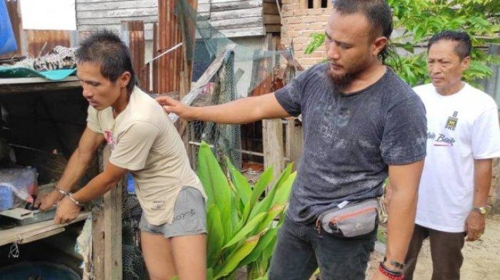 Pria Terjun ke Laut Sukadamai Toboali Saat di Dekati Polisi, Ternyata Simpan Barang Haram di Rumah