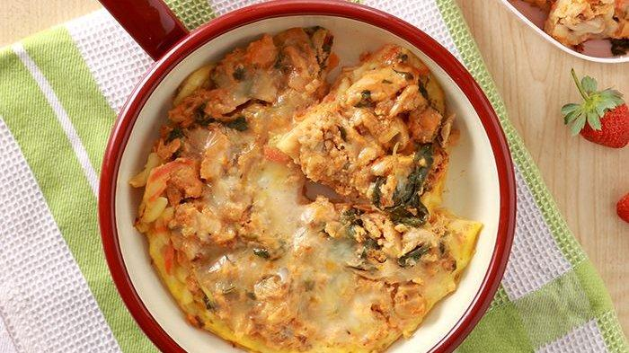 Bikin Pizza Makaroni Tanpa Perlu Banyak Bahan dan Dimasak Tanpa Oven
