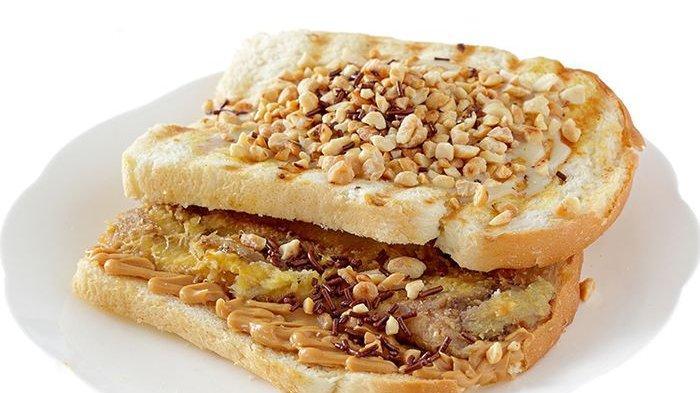 Tanpa Ribet dan Secepat Kilat, Roti Bakar Pisang Kacang Pas untuk Sarapan