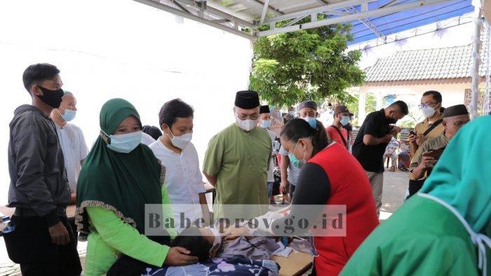 Sambangi Sunatan Massal di Toboali, Gubernur  Bangka Belitung Pesan Jaga Protokol Kesehatan